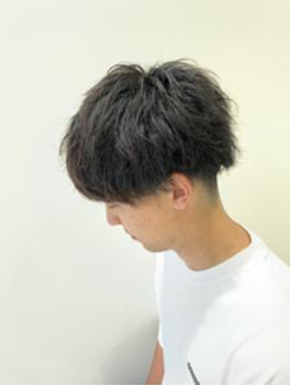 クセ毛をパーマ風に(^^)_20190822_1
