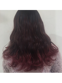 色々なピンクカラー♪ 高田馬場 美容室_20180309_2