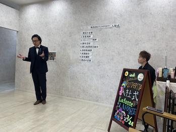 令和2年入社式。川村Asami_20200324_4