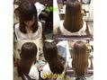 手触り抜群 髪質改善のヒミツ