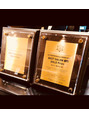 ホットペッパービューティアワード gold prize受賞