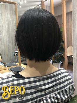 イメチェンショートは癖も見ながら☆_20200902_1