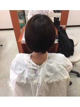 鎖骨位までの愛らしい☆彡ミディアムヘアー☆彡_20170730_1