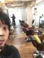 10/16(月)sarah hair 銀座 ベルジュバンス