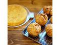 ミートパイ&スペインオムレツのプレート