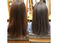 ツヤと透明感の両立!髪質改善とN.カラーでイメチェン