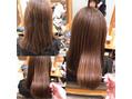 お客様スタイル 乾燥してくる前に髪質改善! 内田