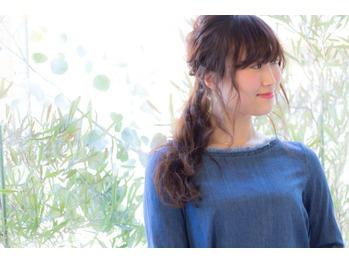 ☆ゆる ポニーテールアレンジ☆_20160211_1