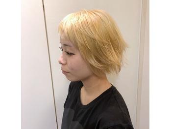 金髪ショートが作る金髪ショート .アツキ_20180725_2