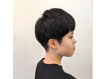女子の刈り上げ☆_20190620_3