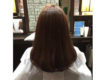 ★髪質改善通信166・バッサリカット&Roaトリ&カラー_20160110_2