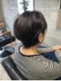 ミセス カジュアルショート 奈良市 美容室