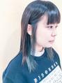 インナーカラー☆マットグレージュ