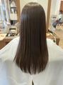ラルーエ(RaRuhe)超音波ストレートで髪質改善