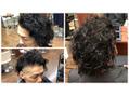 木田さんの髪めちゃめちゃ長かった びびる