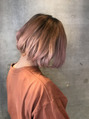 アティック ヘアーデザインアンドリラクゼーション(attic hair design&relaxation)パステルピンク☆☆