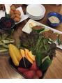 野菜が美味しい!!