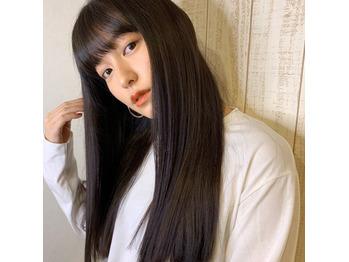 merモデル、あべりちゃん髪質改善トリートメント_20181108_2
