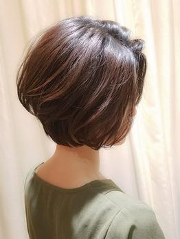春髪におすすめ◎ママさん主婦さん扱いやすいショート