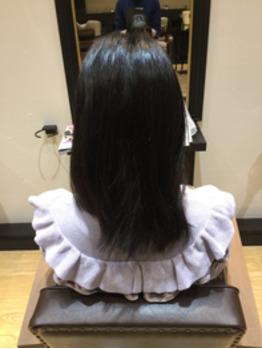 人生初のヘアカラー。_20170130_1