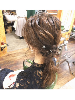 結婚式/ヘアセット/ダウンスタイル_20181012_1