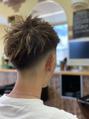 夏の短髪、フェードスタイル!