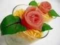 生ハム お花のカップ寿司