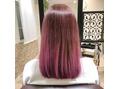 本日の美髪カルテ「ピンクグラデーション」