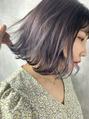 SHION 原宿 lavender gray