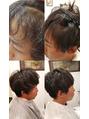 Men'sにもおすすめ。前髪矯正