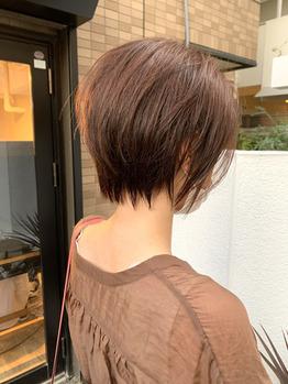 小顔ショートカット♪Before→ after 【山崎慎悟】_20201004_1