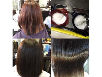 ★髪質改善通信169・暗くしたくないけど落ち着かせる_20160120_1