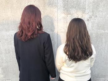卒業カラーデビュー♪_20190306_1