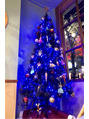 クリスマスツリー 青色Ver.