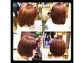 池袋東口 blanc hair 髪質改善 ボブスタイル