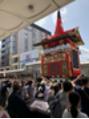 祇園祭りの後は。