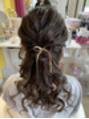 結婚式にヘアセット