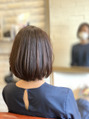 アトリエ ミム 二子玉川店(atelier mim)縮毛かけたね→髪綺麗になったね と言われて欲しい
