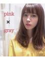 MAI's hair ☆ ピンク+グレージュ