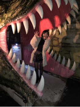 【SAKI】念願の恐竜レストランへ!!【BOB関内】_20180403_1