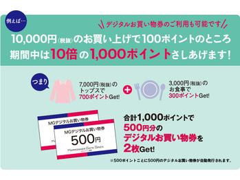 マロニエゲート銀座ポイント 10倍キャンペーン!_20180513_1