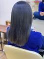 暗髪カラー