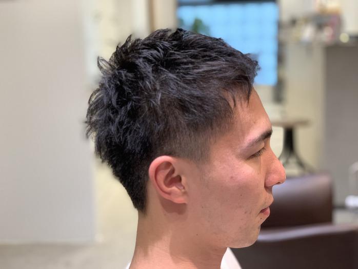 短髪スッキリ!_20200308_1
