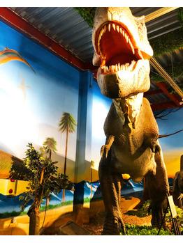 【SAKI】念願の恐竜レストランへ!!【BOB関内】_20180403_4