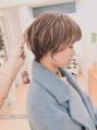 ガーデンヘアー(Garden hair)[松岡]短めでもボーイッシュにならないショート!