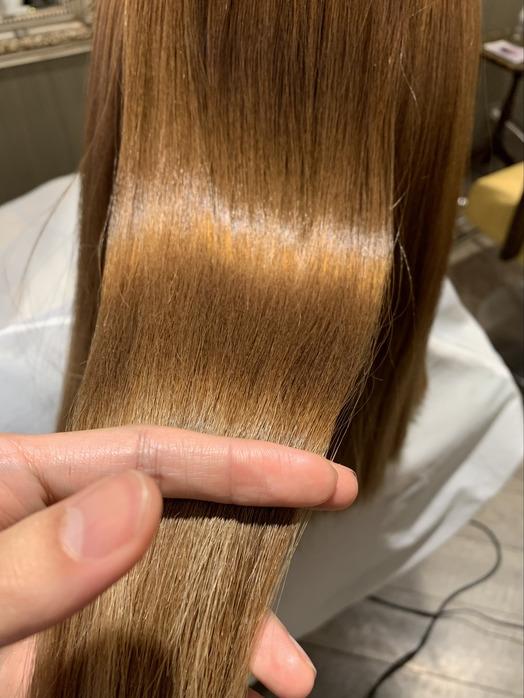 ブリーチをしていても縮毛矯正で理想の艶髪を!!_20210830_3