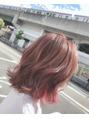 pink × pink ヘアー☆