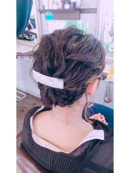 結婚式ヘアセット☆_20181118_1