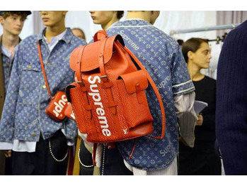 Louis Vuitton in collaboration with Supreme