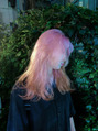 oguma hair /クリアピンクカラー